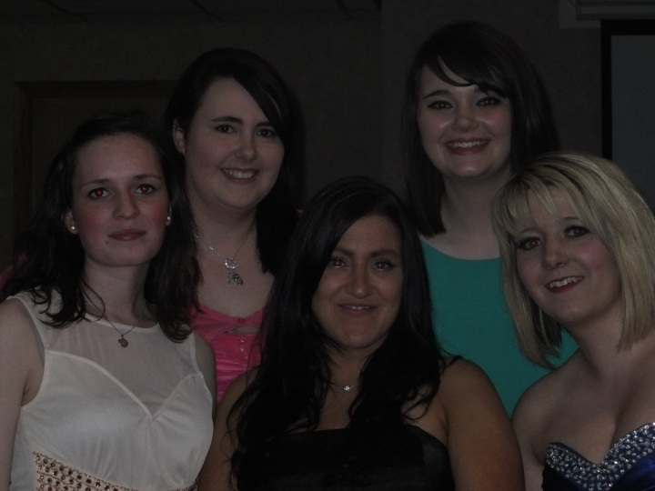 Amy, Katie, Gemma, Hannah and I :)