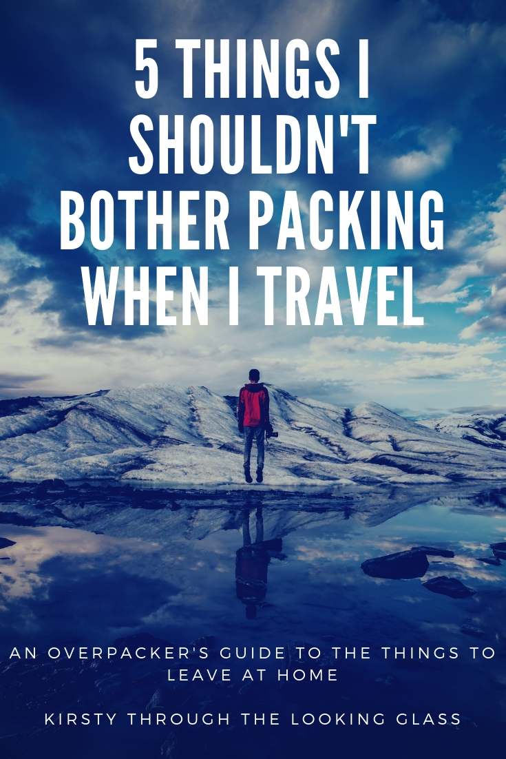 Five Things I Always Pack And Never Use |September Travel Challenge