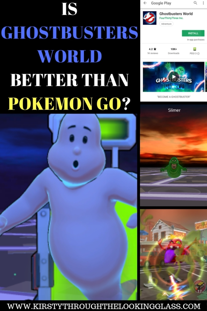 IS GHOSTBUSTERS WORLD BETTER THAN POKEMON GO-