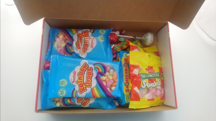 box full of sweets